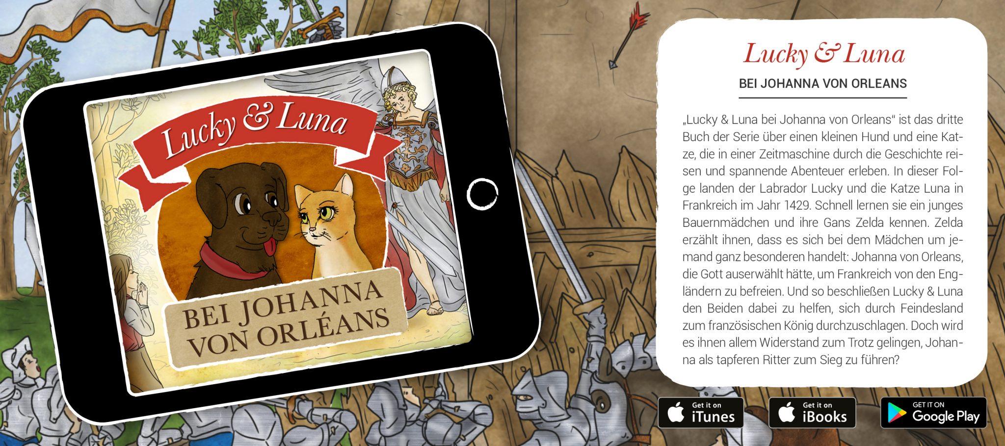 Lucky & Luna bei Johanna von Orleans